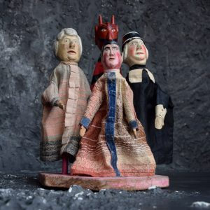 German Punch and Judy Puppets