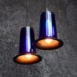 Mercury Glass Pendants