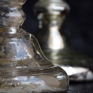 Mercury Glass Candle Sticks *Sold