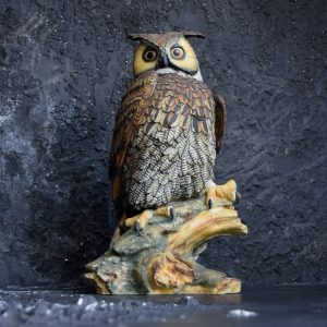 Owl Figure by V. Bindi