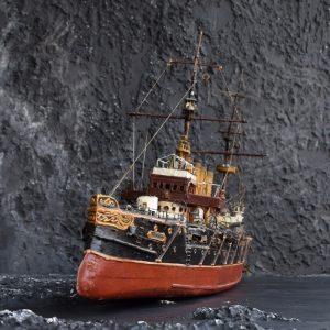 Scratch Built Ship Thunder
