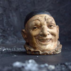 Clown tobacco jar *Sold