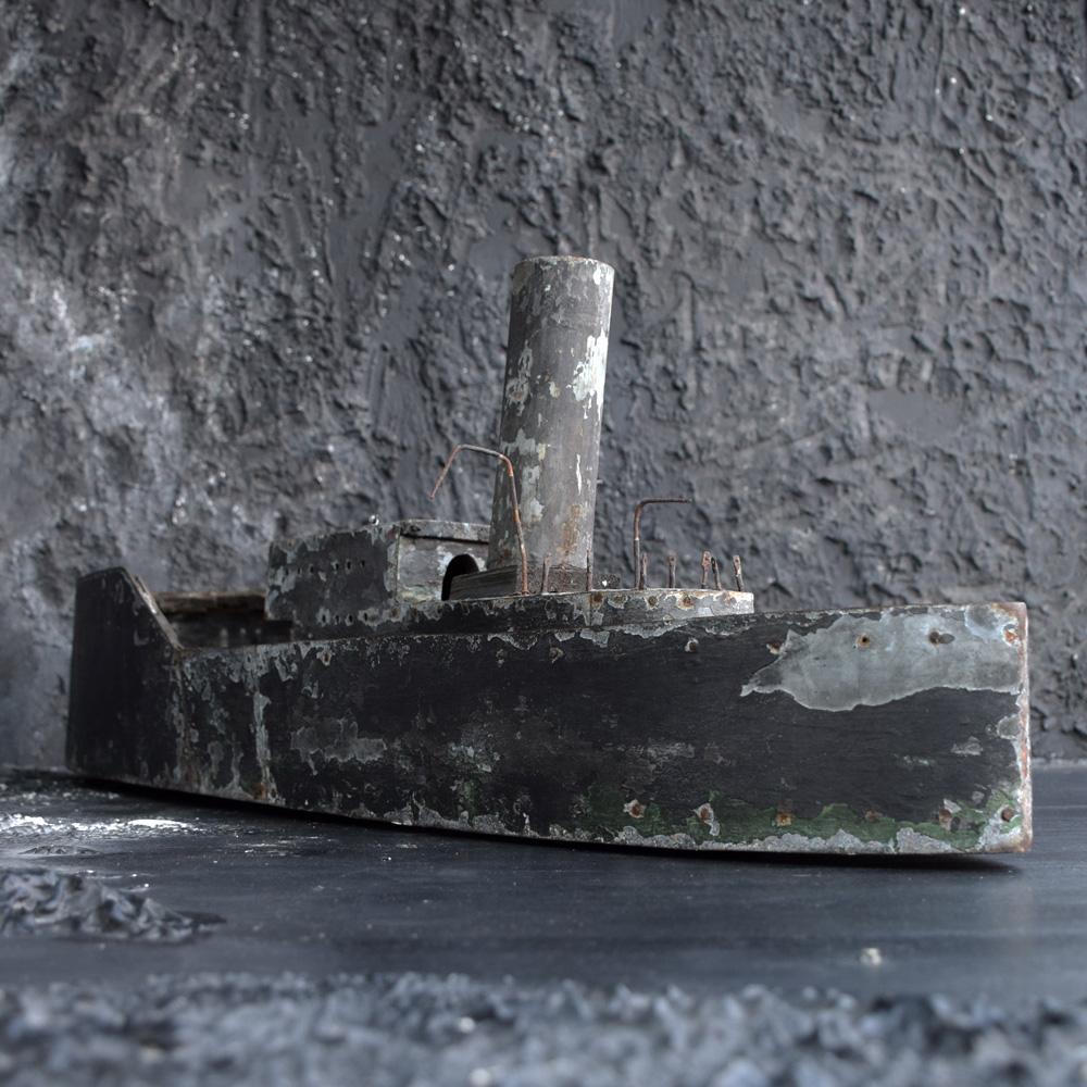 Zinc ship model