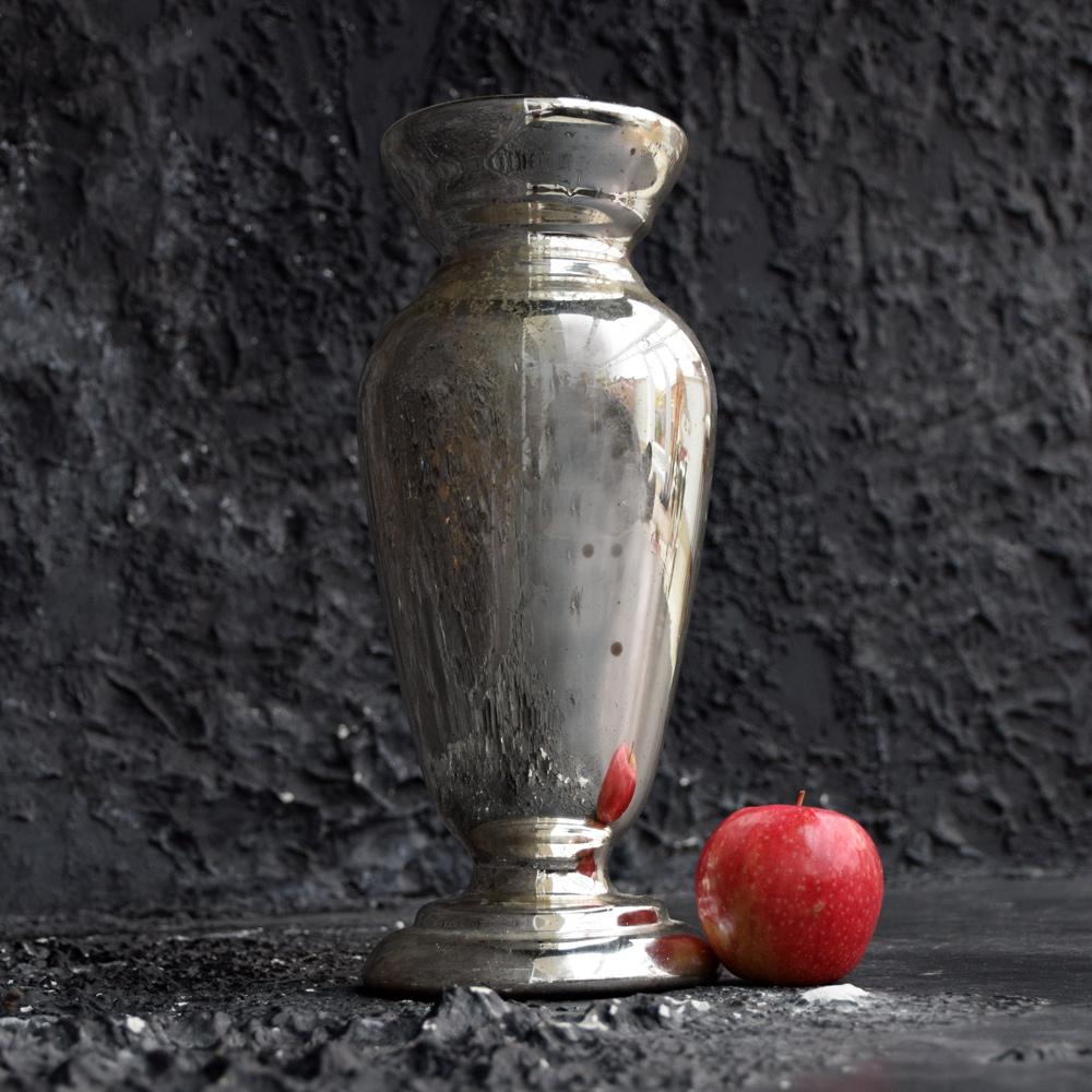 Mercury Glass Vase c.1880