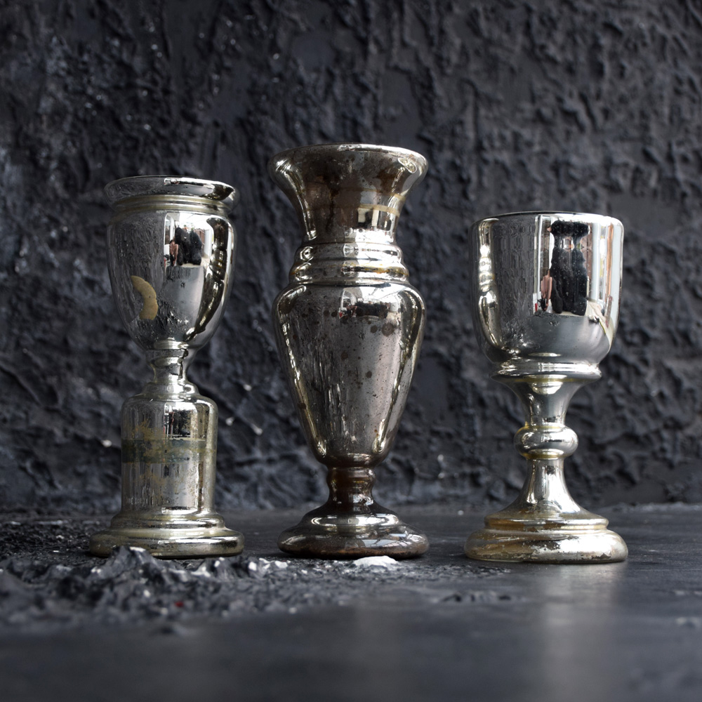 French Mercury Goblets