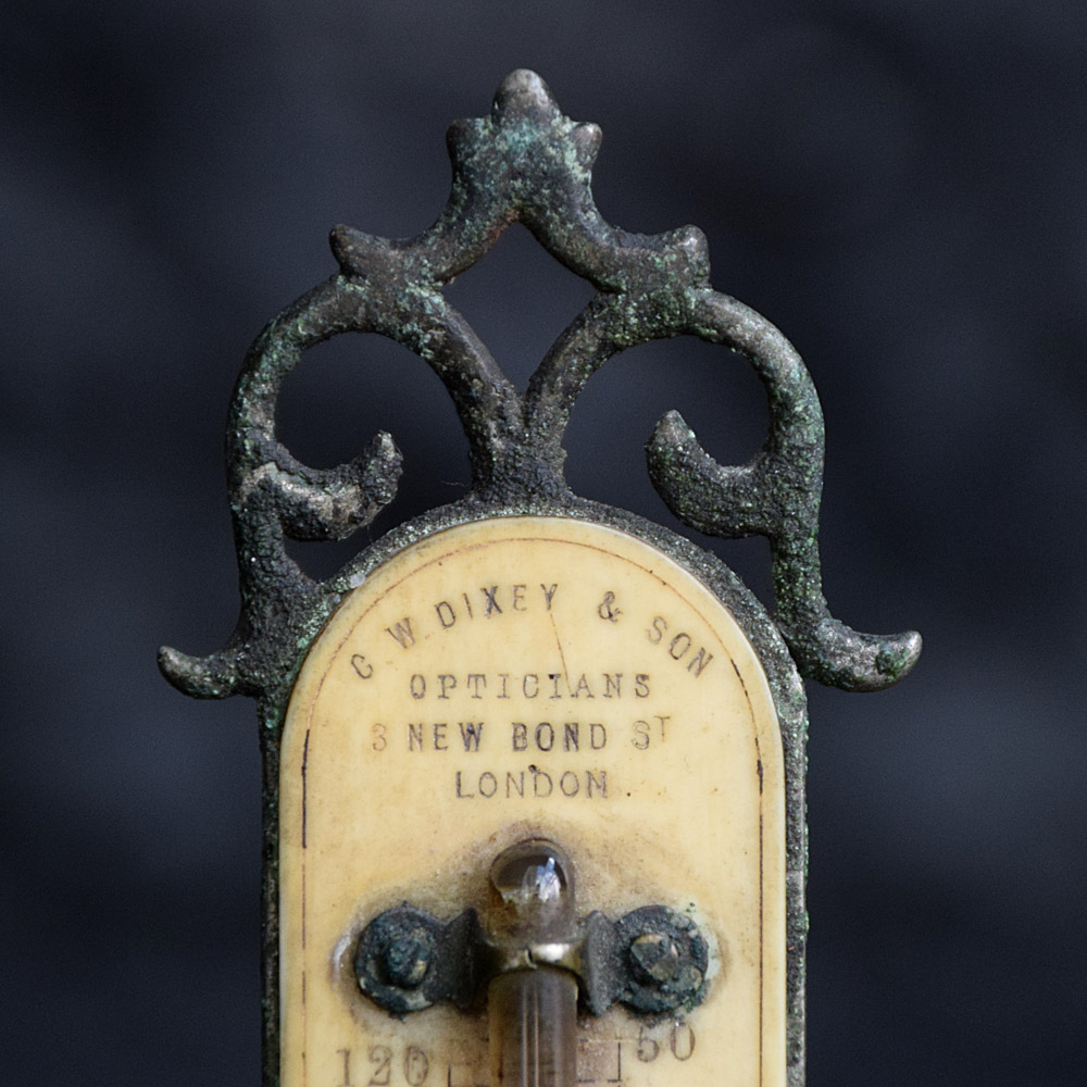 Opticians Thermometer c.1900
