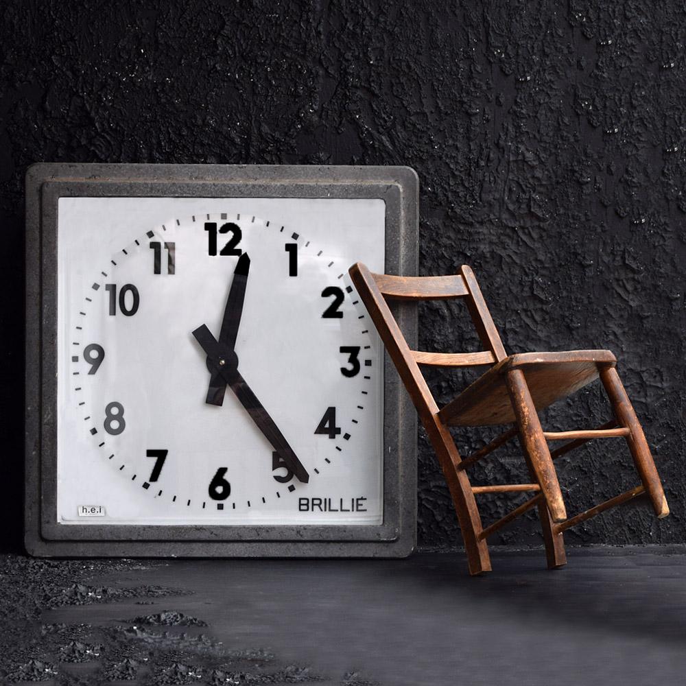 BRILLIE Station Clock
