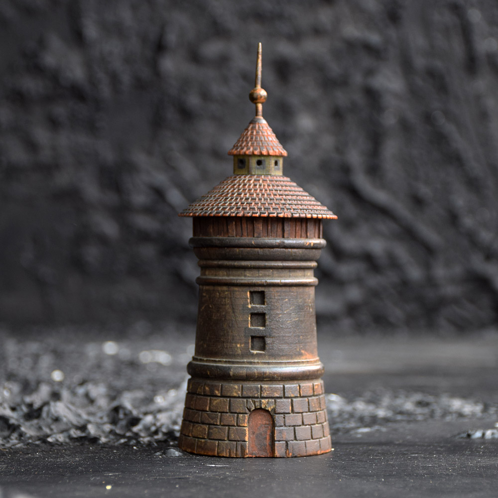 Nuremberg Tower Spice Box  c.1870