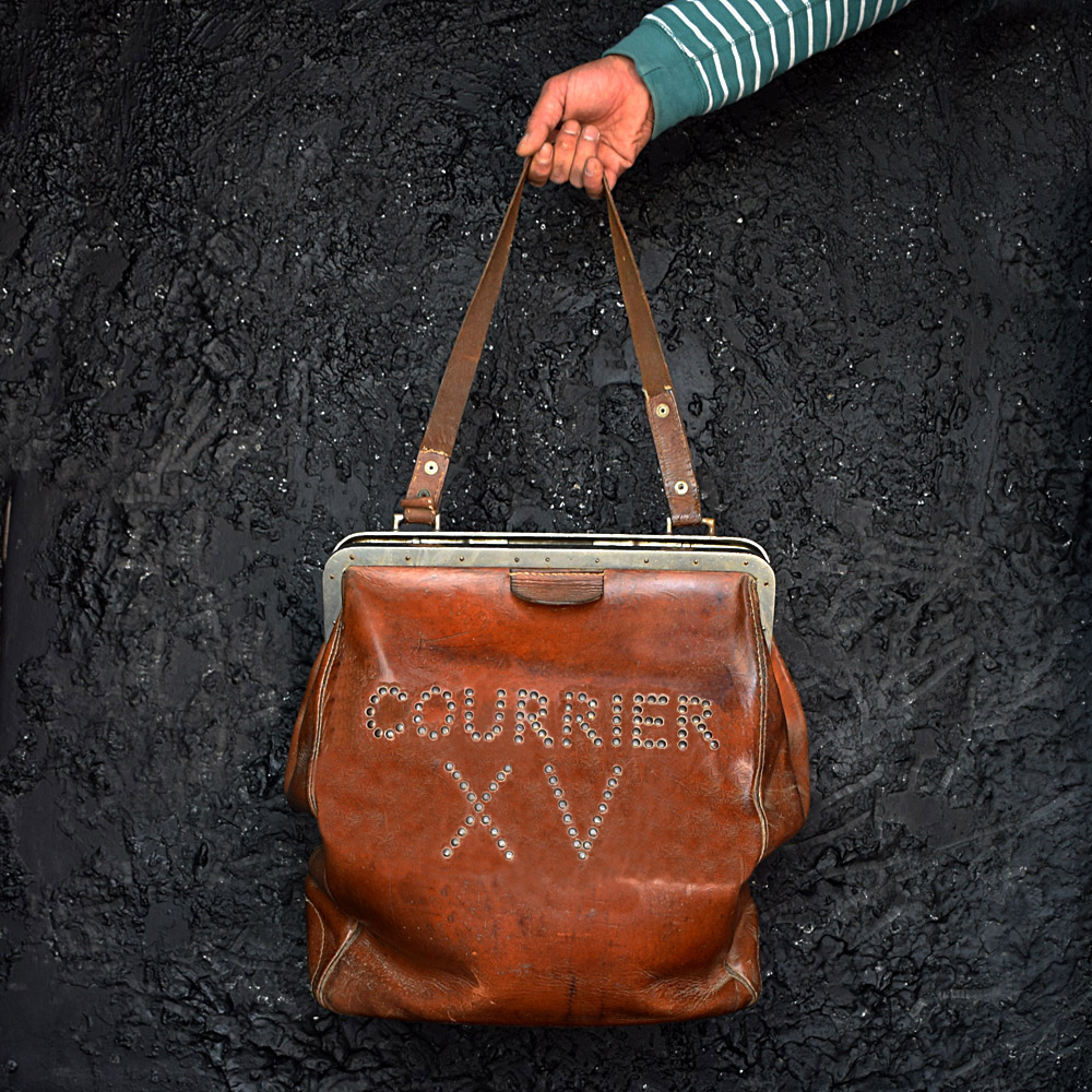 French Bank Courier Bag