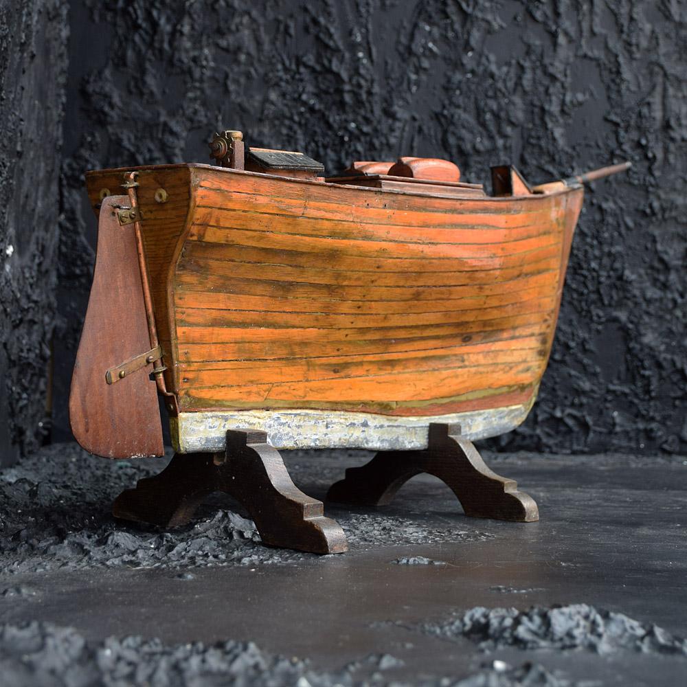 Scratch built boat