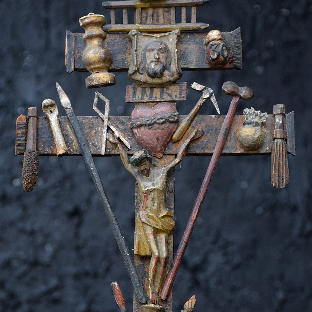 Amazing Arma Christi c.1850