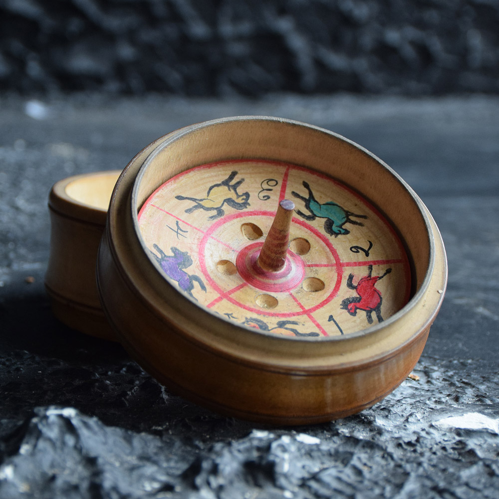 Treen Roulette Wheel