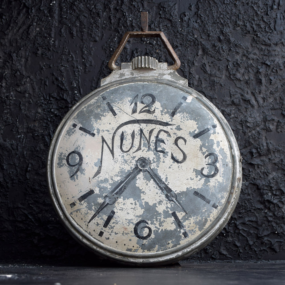 Zinc Clock Smiths Trade Sign