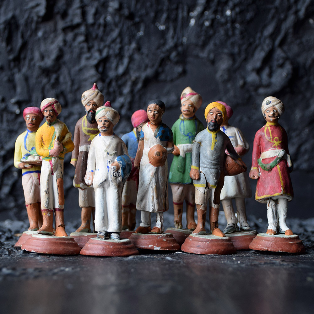Colonial India Figures c.1890