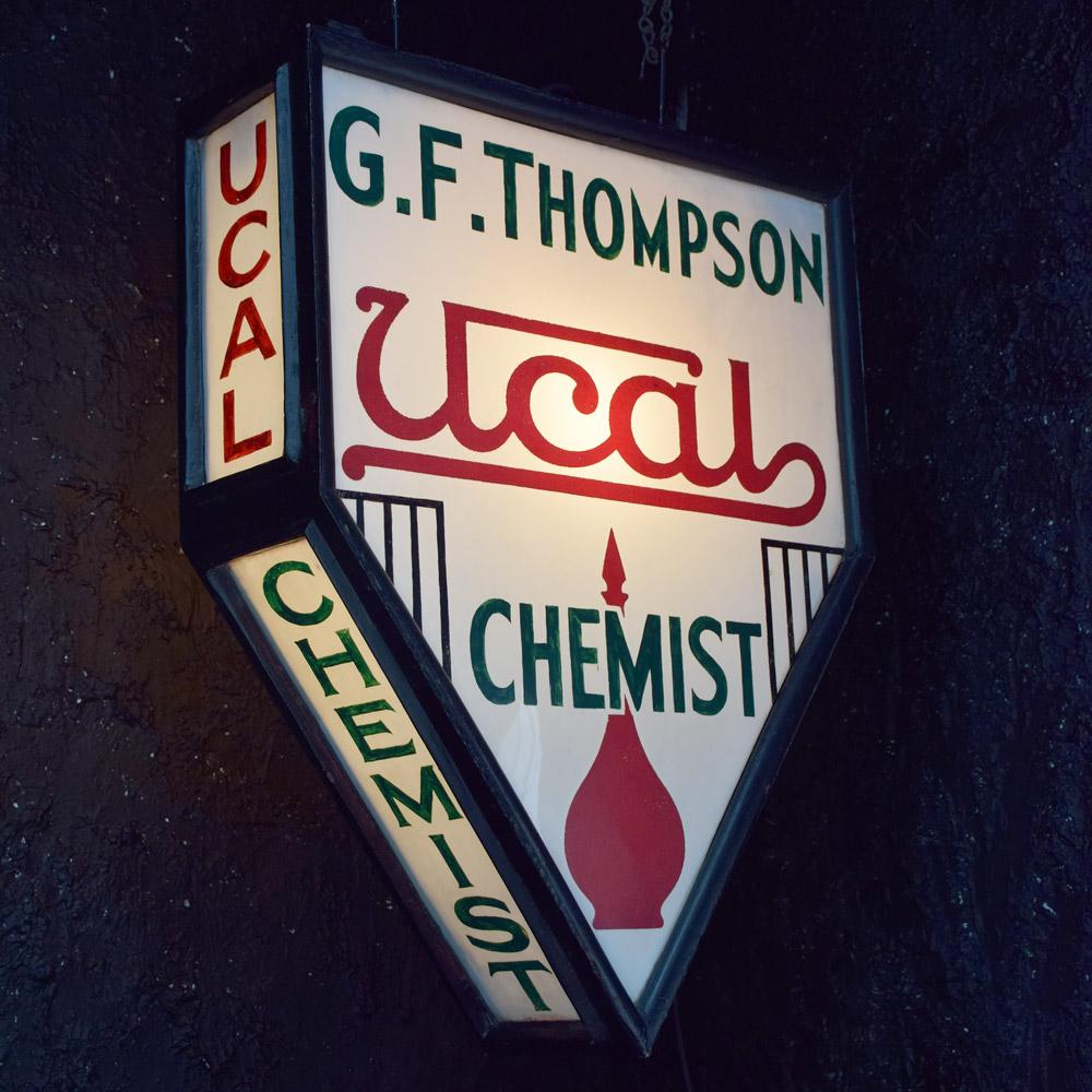 Chemist Trade Sign