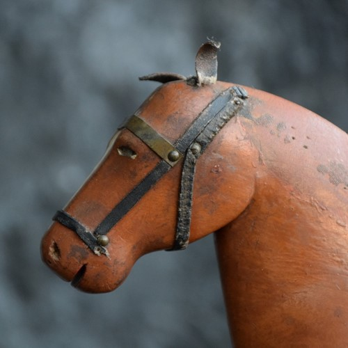 Naive Horse Figure