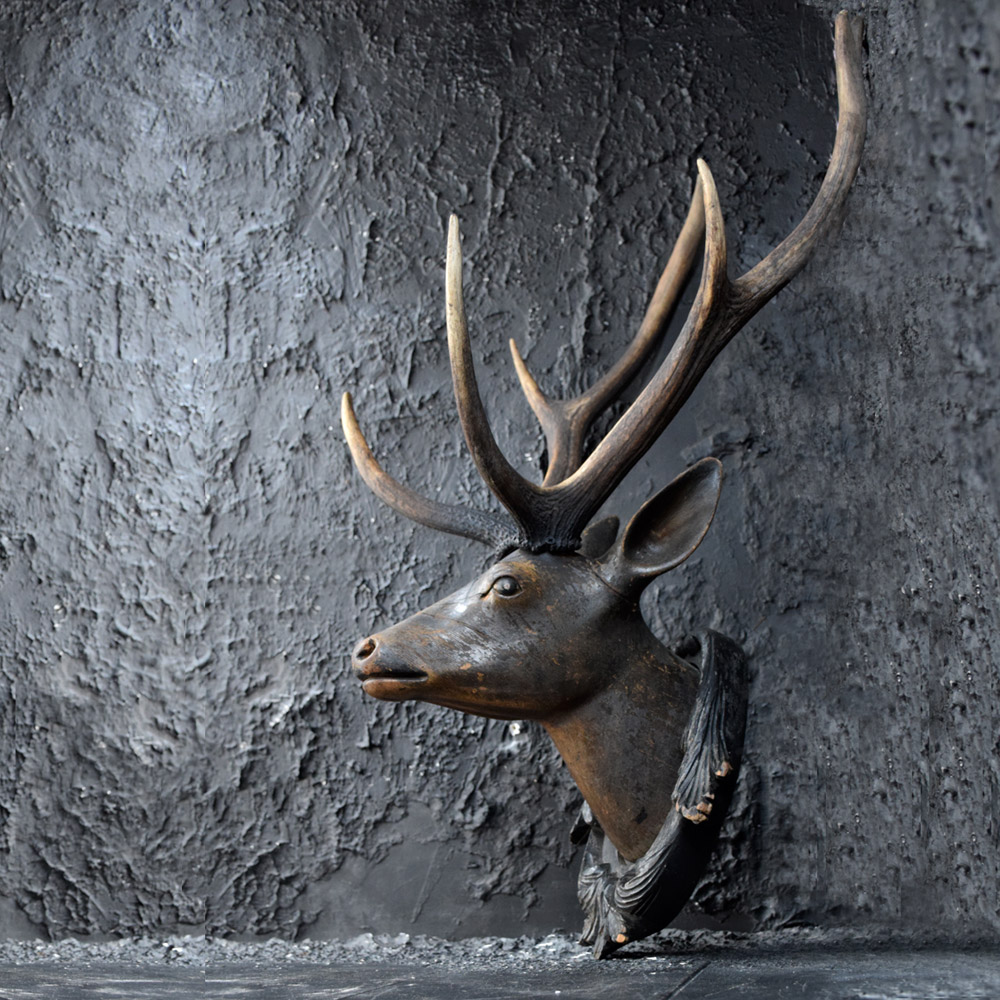 German Deer's Head