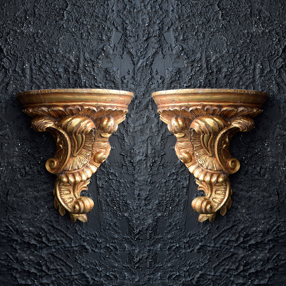Gold Gilt Corbels