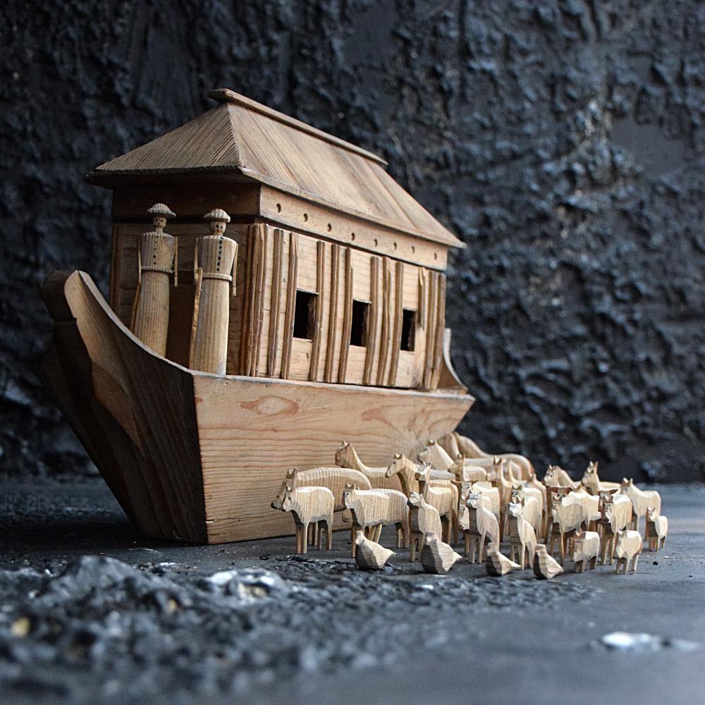 Treen Noah's Ark