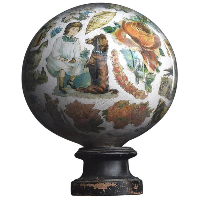 Decalcomania Globe